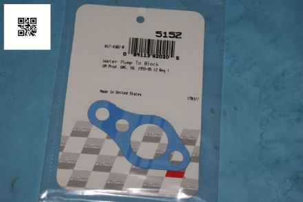 1955-1982 Corvette C1 C2 C3 Water Pump Gasket, Fel-Pro 5152, New
